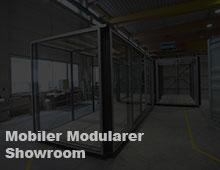 Mobiler Modularer Showroom