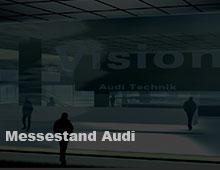Messestand Audi